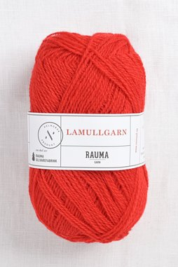 Image of Rauma 2-Ply Lamullgarn 43 Red