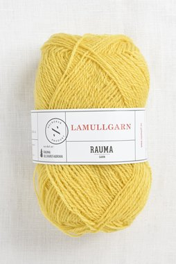 Image of Rauma 2-Ply Lamullgarn 53 Sunshine