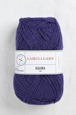 Image of Rauma 2-Ply Lamullgarn 55 Deep Purple