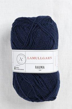 Image of Rauma 2-Ply Lamullgarn 57 Dark Navy Blue