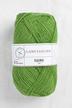 Image of Rauma 2-Ply Lamullgarn 58 Green