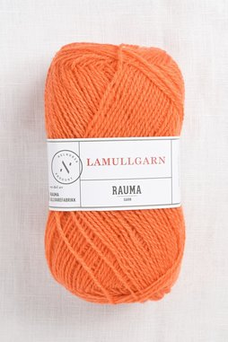Image of Rauma 2-Ply Lamullgarn 62 Orange