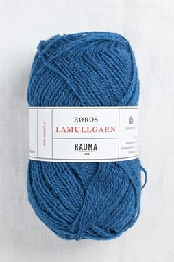 Image of Rauma 2-Ply Lamullgarn 68 Dark Slate Blue