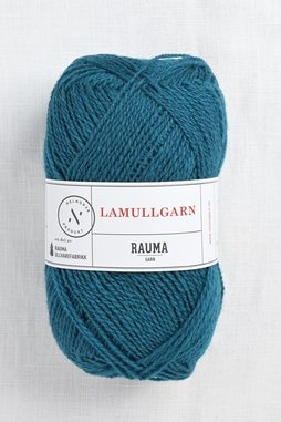 Image of Rauma 2-Ply Lamullgarn 74 Peacock Blue
