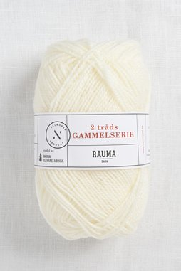 Image of Rauma 2-Ply Gammelserie 400 White