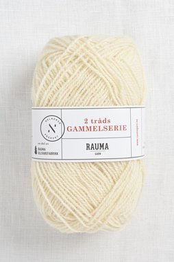 Image of Rauma 2-Ply Gammelserie 401 Off White