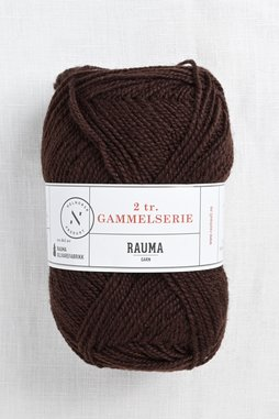 Image of Rauma 2-Ply Gammelserie 422 Dark Brown