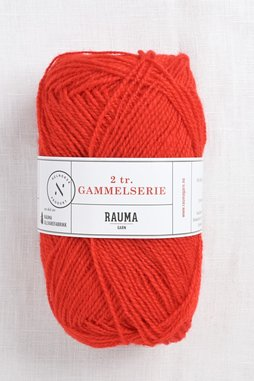 Image of Rauma 2-Ply Gammelserie 424 Red