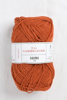 Image of Rauma 2-Ply Gammelserie 434 Burnt Orange