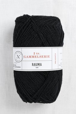Image of Rauma 2-Ply Gammelserie 436 Black