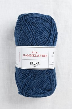 Image of Rauma 2-Ply Gammelserie 447 Blue