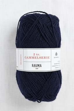 Image of Rauma 2-Ply Gammelserie 459 Navy