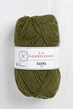 Image of Rauma 2-Ply Gammelserie 476 Dark Olive Green