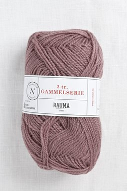 Image of Rauma 2-Ply Gammelserie 487 Dusty Mauve