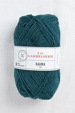 Image of Rauma 2-Ply Gammelserie 4902 Deep Blue Green