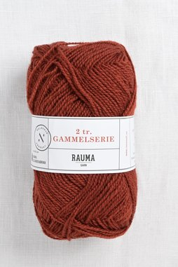 Image of Rauma 2-Ply Gammelserie 4904 Dark Orange