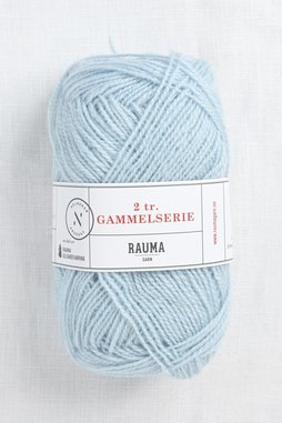 Image of Rauma 2-Ply Gammelserie 4906 Light Blue