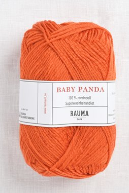 Image of Rauma Baby Panda (Baby Garn) 54 Orange