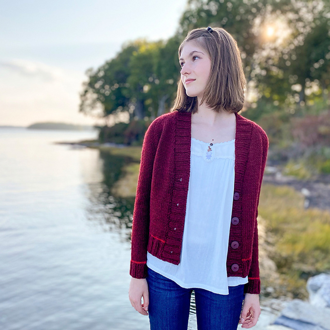 Feature Pattern of the Week - Audrey's Cardigan