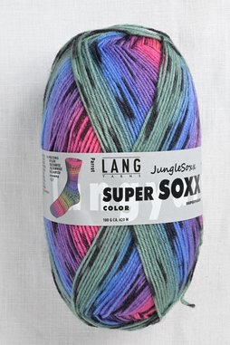 Image of Lang Super Soxx Color 274 Parrot