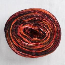 Image of Lang Mille Colori 200g 61 Black Red Orange