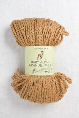 Image of Plymouth Baby Alpaca Grande Tweed 1150 Mustard (Discontinued)