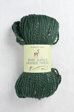 Image of Plymouth Baby Alpaca Grande Tweed 1172 Forest (Discontinued)
