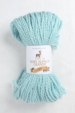 Image of Plymouth Baby Alpaca Grande 1834 Blue Angel