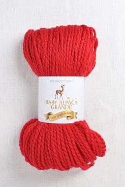 Image of Plymouth Baby Alpaca Grande 2060 Red