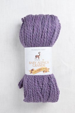 Image of Plymouth Baby Alpaca Grande 3121 Cosmic Purple