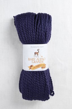 Image of Plymouth Baby Alpaca Grande 5939 Dark Navy