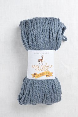 Image of Plymouth Baby Alpaca Grande 635 Chambray