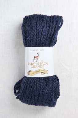 Image of Plymouth Baby Alpaca Grande 638 Dark Denim