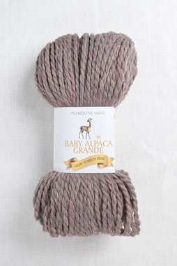 Image of Plymouth Baby Alpaca Grande 7356 Red Taupe
