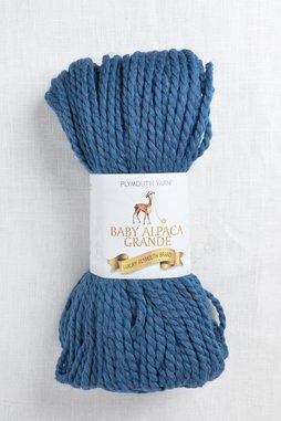 Image of Plymouth Baby Alpaca Grande 7706 Blue Heather