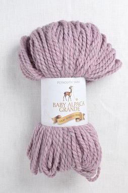 Image of Plymouth Baby Alpaca Grande 7718 Pink Heather
