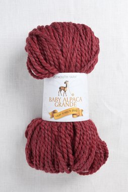 Image of Plymouth Baby Alpaca Grande 7796 Red Heather