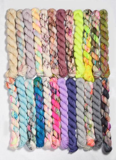 Hedgehog Fibres Sock Mini Collection