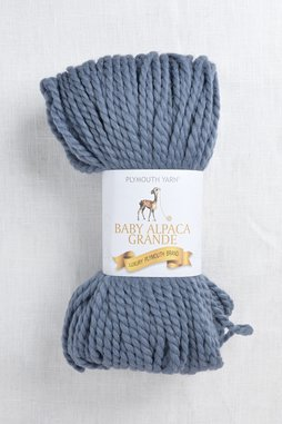 Image of Plymouth Baby Alpaca Grande 8917 Grey Denim