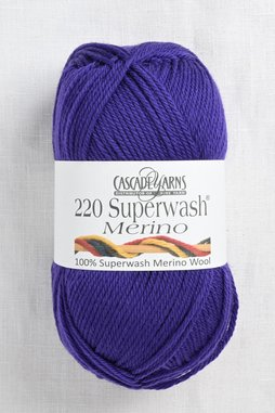 Image of Cascade 220 Superwash Merino 44 Dark Violet