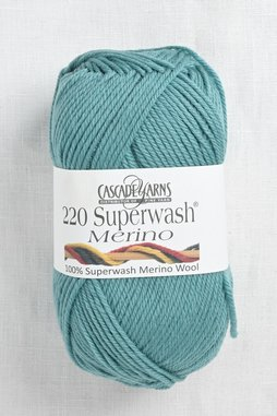 Image of Cascade 220 Superwash Merino 88 Green Blue Slate