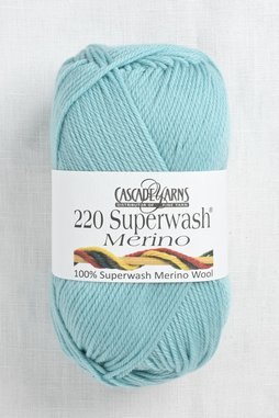 Image of Cascade 220 Superwash Merino 89 Aqua Haze