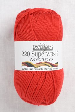 Image of Cascade 220 Superwash Merino 96 Molten Lava