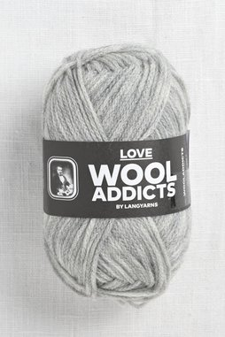 Image of Wooladdicts Love 3 Light Grey (Discontinued)