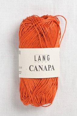 Image of Lang Canapa 59 Tangerine