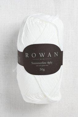Image of Rowan Summerlite 4Ply 417 Pure White