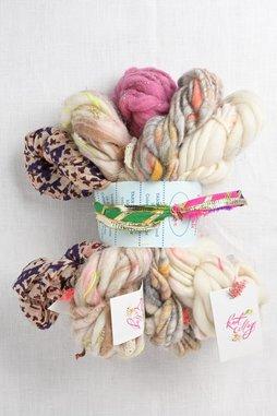Image of Knit Collage Mini Skein Sampler Set  Dusty Mauve