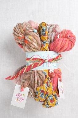 Image of Knit Collage Mini Skein Sampler Set  Rose