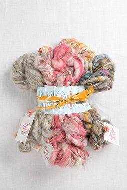 Image of Knit Collage Mini Skein Sampler Set  Ochre Twist