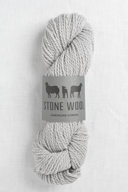 Image of Stone Wool Cormo Shale 01 (50g skein)